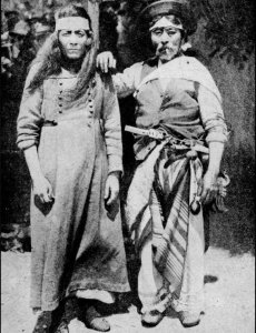 Charrua y gaucho