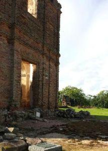 Frente capilla Calera de las Huérfanas