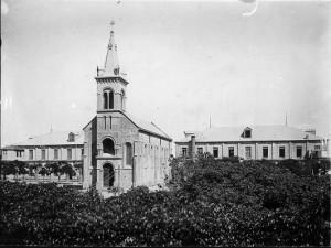 Foto antigua de la Capilla San José del Manga