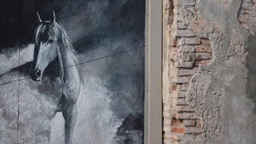 Mural de caballo