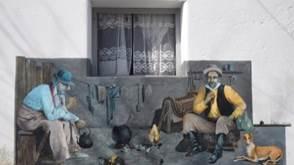 Mural de gauchos