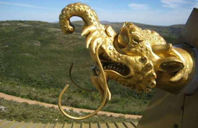 Gárgola del Templo Budista