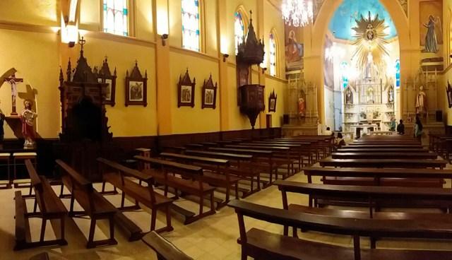 Interior Capilla Nuestra Señora del Huerto