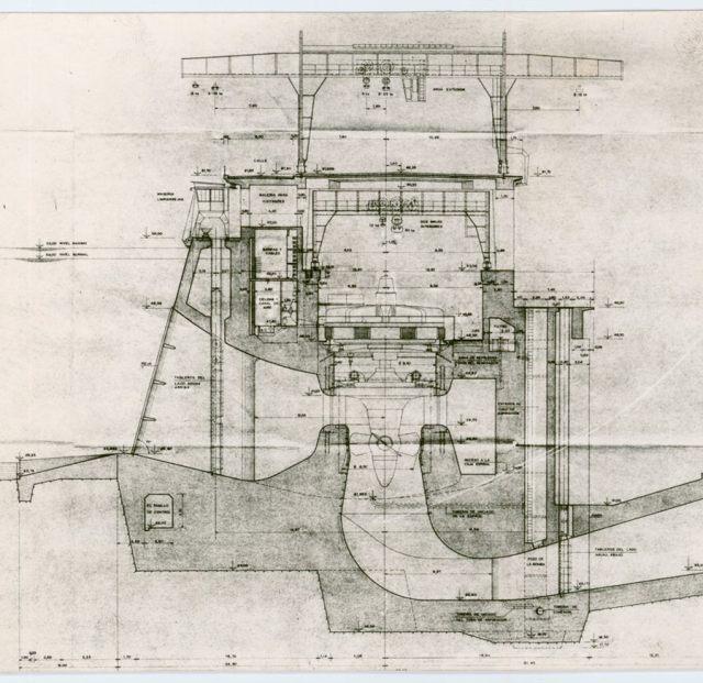 Plano de las turbinas