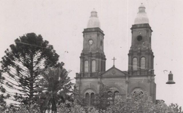Imagen antigua de la Catedral de Florida