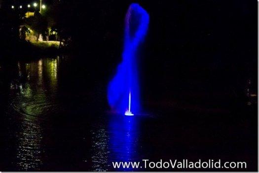 Valladolid cupula del milenio  geiser