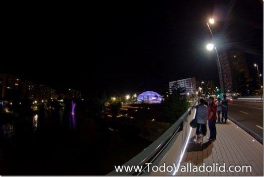 Valladolid cupula del milenio  puente