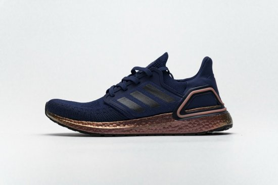 ADIDAS ULTRABOOST 20 CONSORTIUM Dark Blue Gold Real Boost