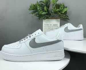 "NIKE Air Force 1 ""Static Refective"" Blancas"