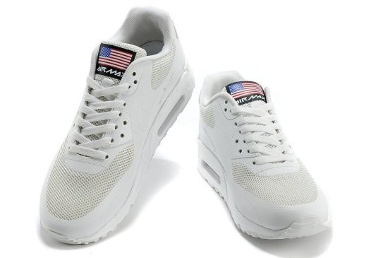 NIKE Air Max 90 Hyperfuse QS Blancas 4