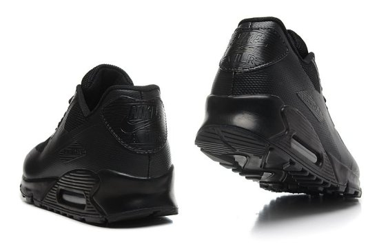 NIKE Air Max 90 Hyperfuse QS Negras 3