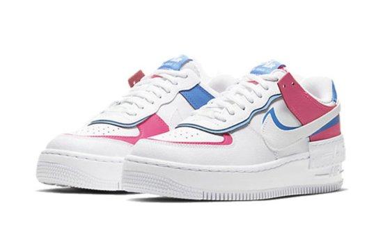 Nike Air Force 1 Shadow Rosas-Azules