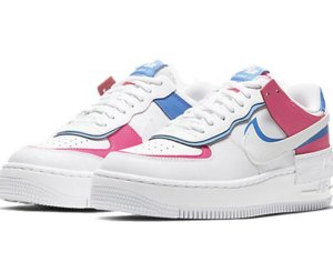 Nike Air Force 1 Shadow Rosas-Azules