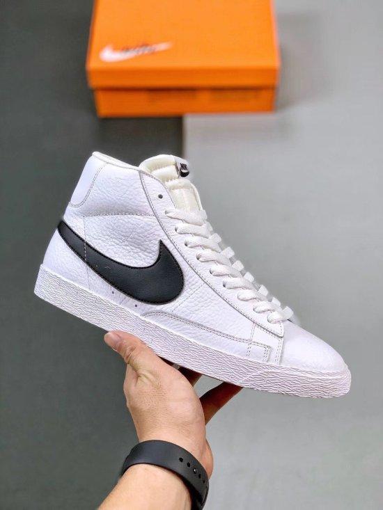 Nike Blazer Mid Retro WhiteTeam Black 1