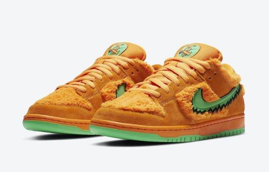 Nike SB Dunk Low Grateful Dead Bears Orange 3