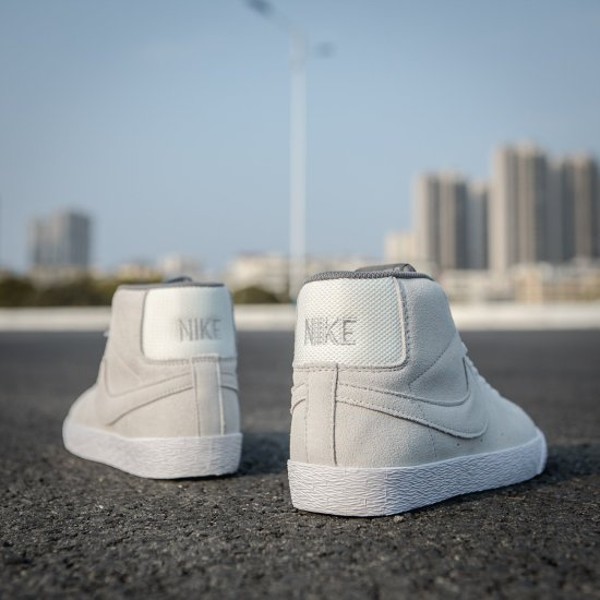 Nike SB Zoom Blazer Mid Gris 3