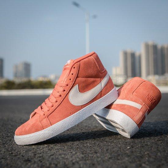 Nike SB Zoom Blazer Mid Salmon 4