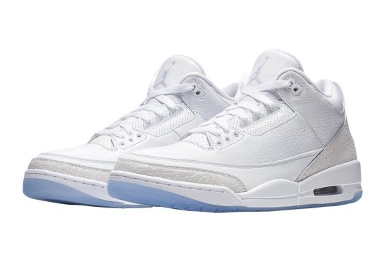 air jordan 3 triple white 1