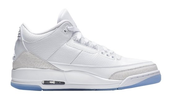 air jordan 3 triple white 3
