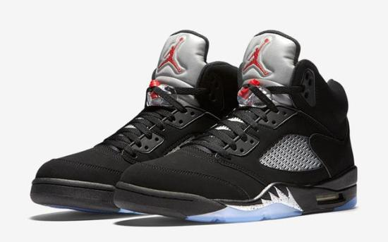 air jordan 5 black metallic 1