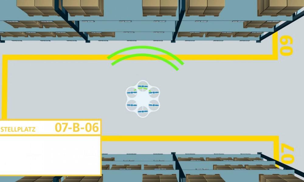 drones y almacenes
