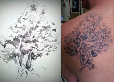 Tattoovorlagen Toepler Illu De