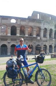 Rome bereikt na 2300 kilometer