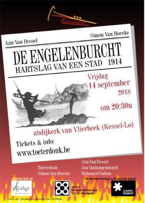 Engelenburcht Affiche Vlierbeek Stad V2