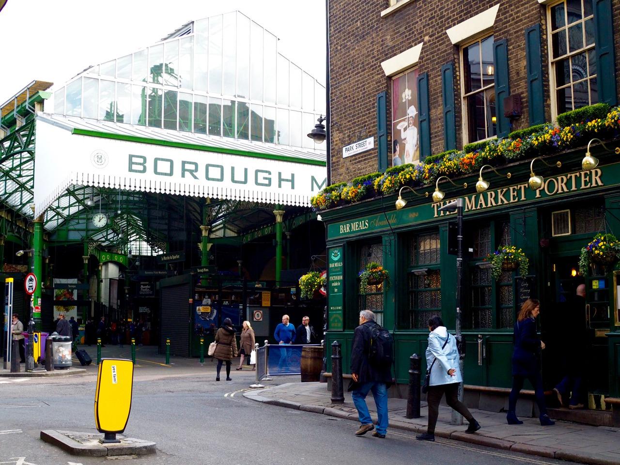 photos of borough market