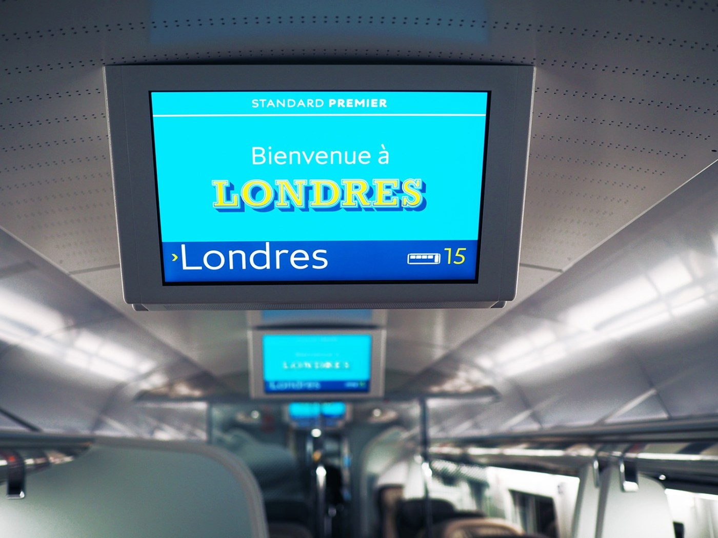 Eurostar from Paris to London