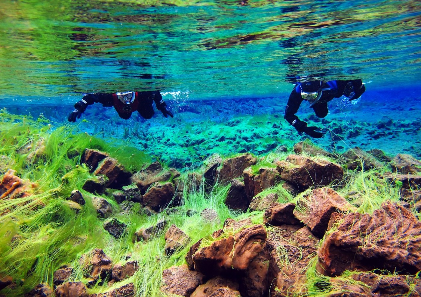 Clearest waters in Silfra - The Best Day Trips From Reykjavik