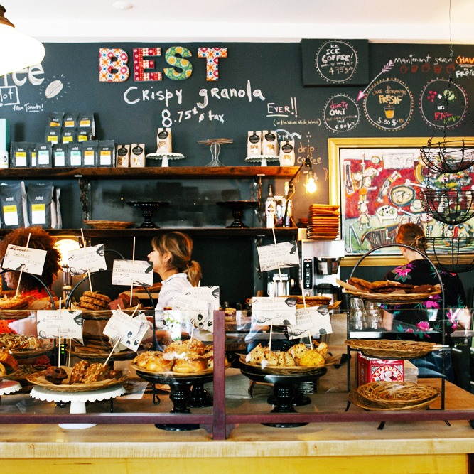 Olive and Gourmando, the best bakery restaurant in Old Montreal
