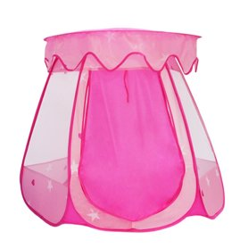 Kid Outdoor Indoor Princess Play Tent Pink