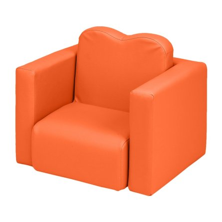 Children's Sofa 2-In-1 Orange