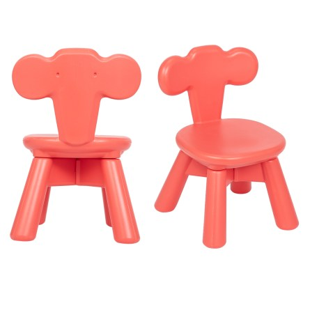 Furniture Plastic Table and 2 Chair Set