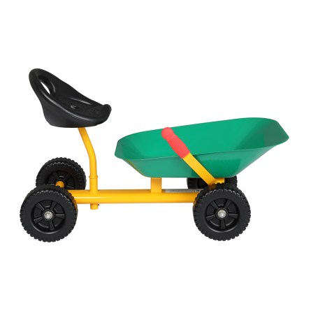 Kids Ride On Sand Dumper With Wheels, Green