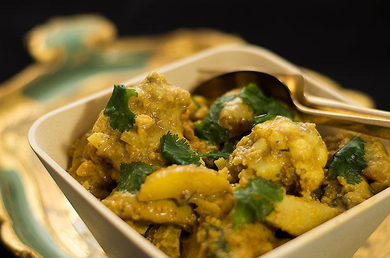 Kartoffel Blumenkohl Curry