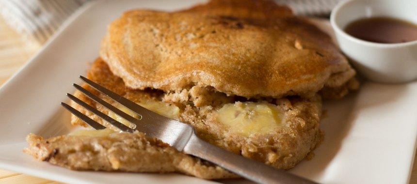 Vollkorn Pancakes – lecker mit Banane