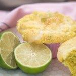 Glasierte Mojito Muffins vegan
