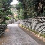 八丈島の玉石垣