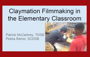 Claymation Filmmaking in the Elementary Classroom