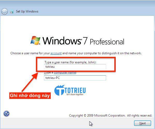 User cho VPS Windows trên Vultr
