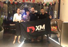 Tô và Constantinos Agathokleous - Giám đốc phát triển thị trường của XM trong buổi làm việc ngày 16/07/2018 vừa qua tại Pullman Saigon Centre.