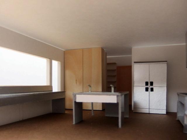 福岡 庫裏計画 厨房模型 2021.07.07