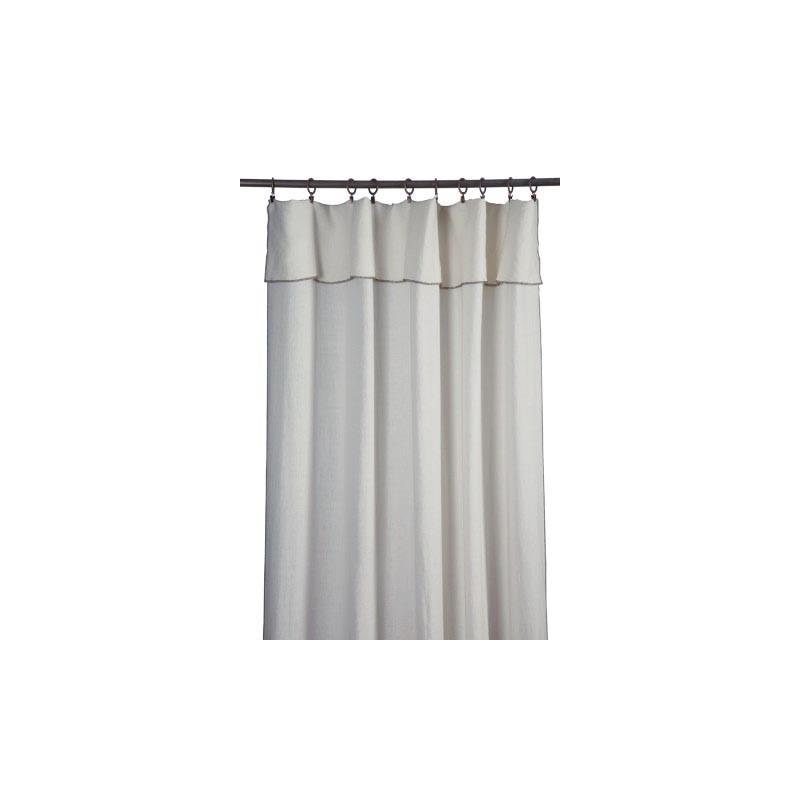panneau nomade gris perle en porquerolles en lin pns704