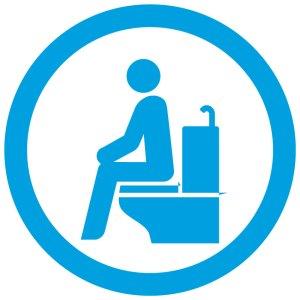 トイレ 座って 清潔に