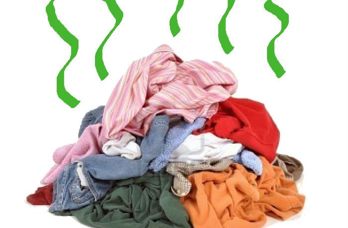 shirt pile