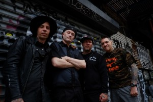 Vinnie and Roger from Agnostic Front  and Todd Youth (Photo- Jammi Sloan York)