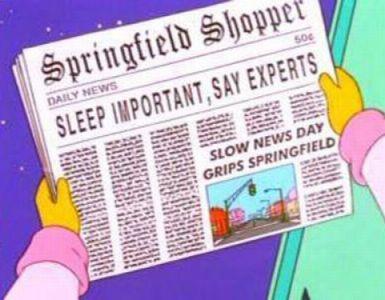 Simpsons News