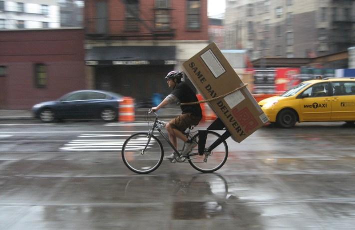 bicycle huge box